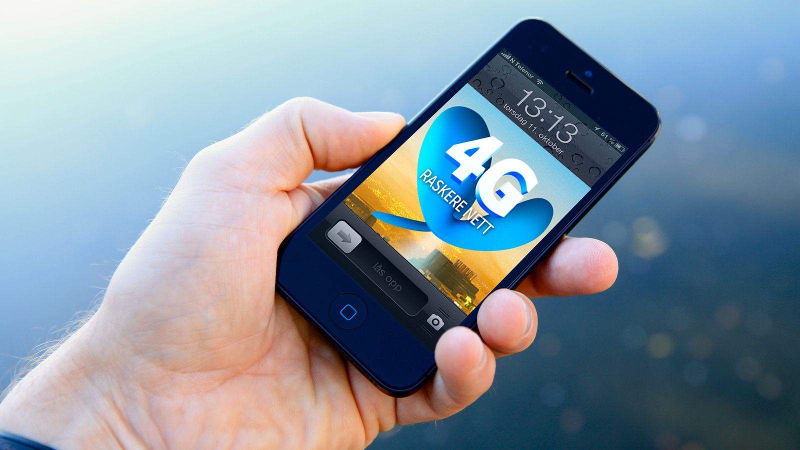 Kraftig økning i bruk av 4G