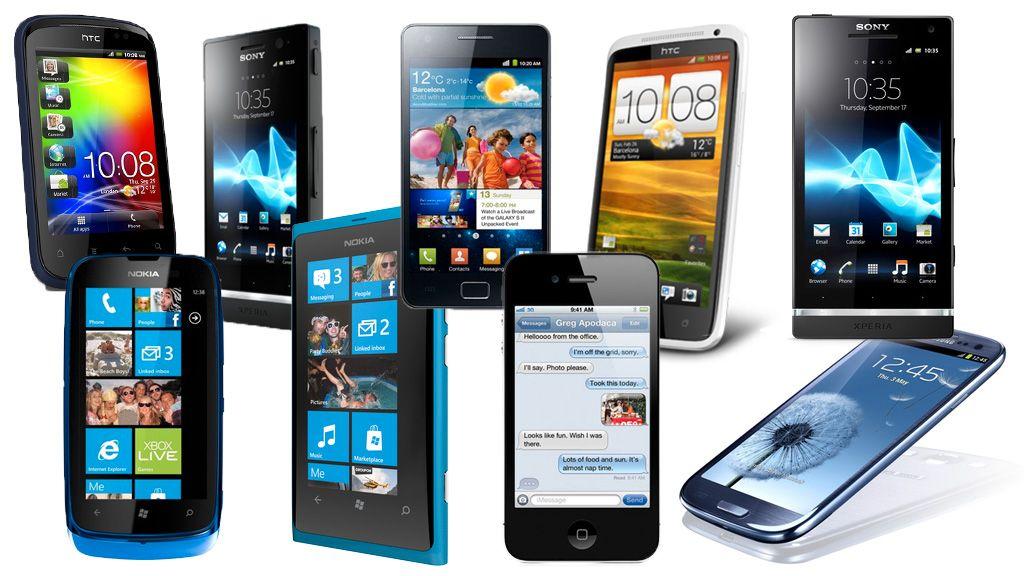 Samsung dominerer mobilsalget