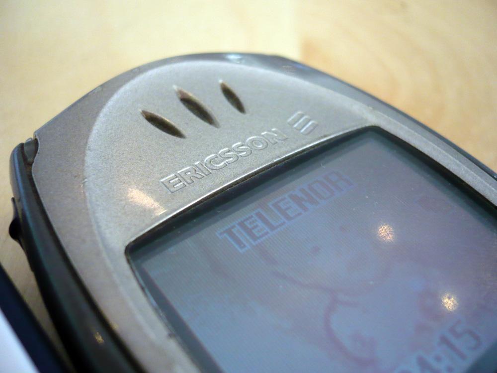 T68 er gamle Ericssons verk, og ikke Sony Ericsson.