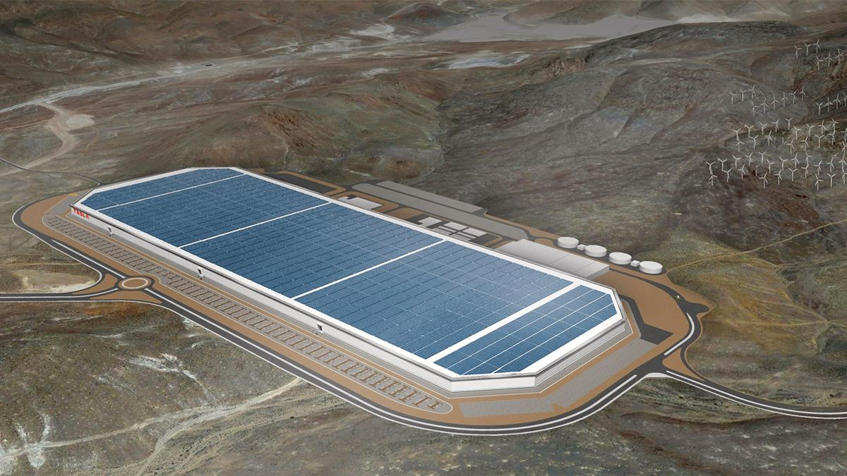 Teslas Gigafactory blir enda mer gigantisk