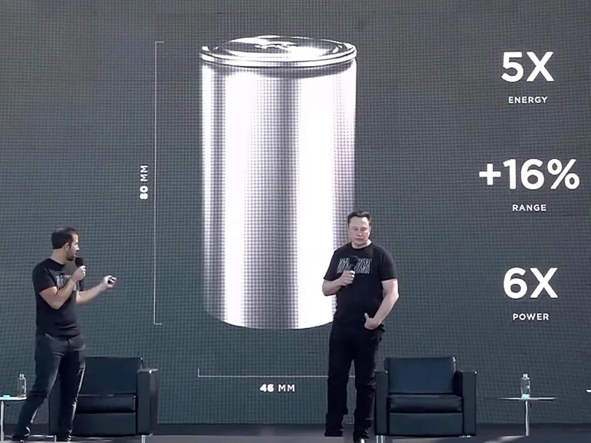 Teslas 4680-batteri ble først presentert på selskapets «Battery Day» i 2020.