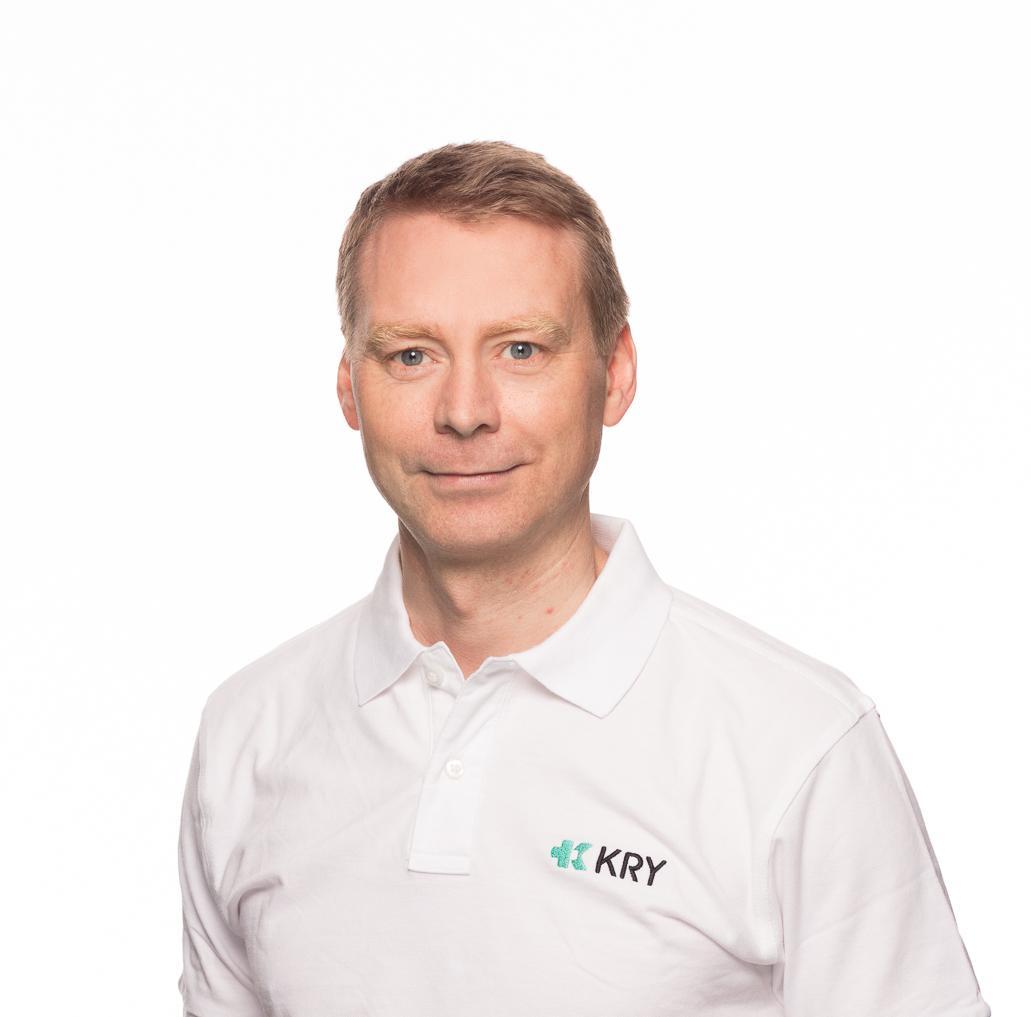 Medisinsk sjef Thorleif Jansen i Kry sier deres viktigste rolle er å bistå med å avlaste fastleger og legevakter.