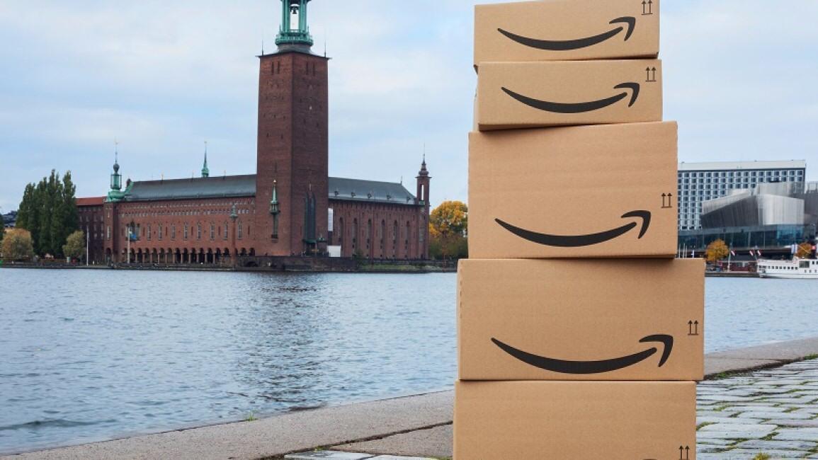 Nå åpner Amazon.se opp i Sverige