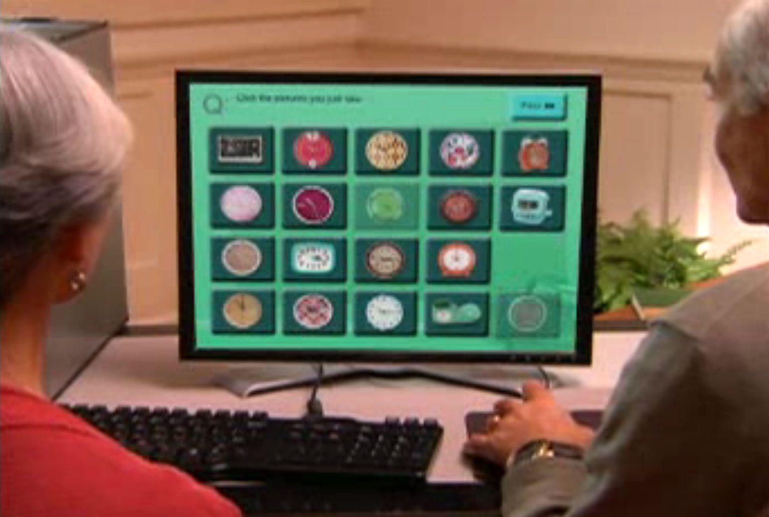 Hjernetrim på PC-en hjelper deg med å bevare hukommelsen.Foto: Skjermdump