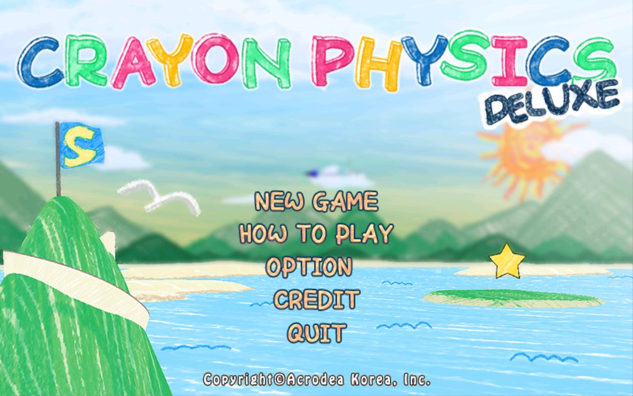 Tegn og lek deg gjennom ulike oppgaver med Crayon Physics Deluxe.