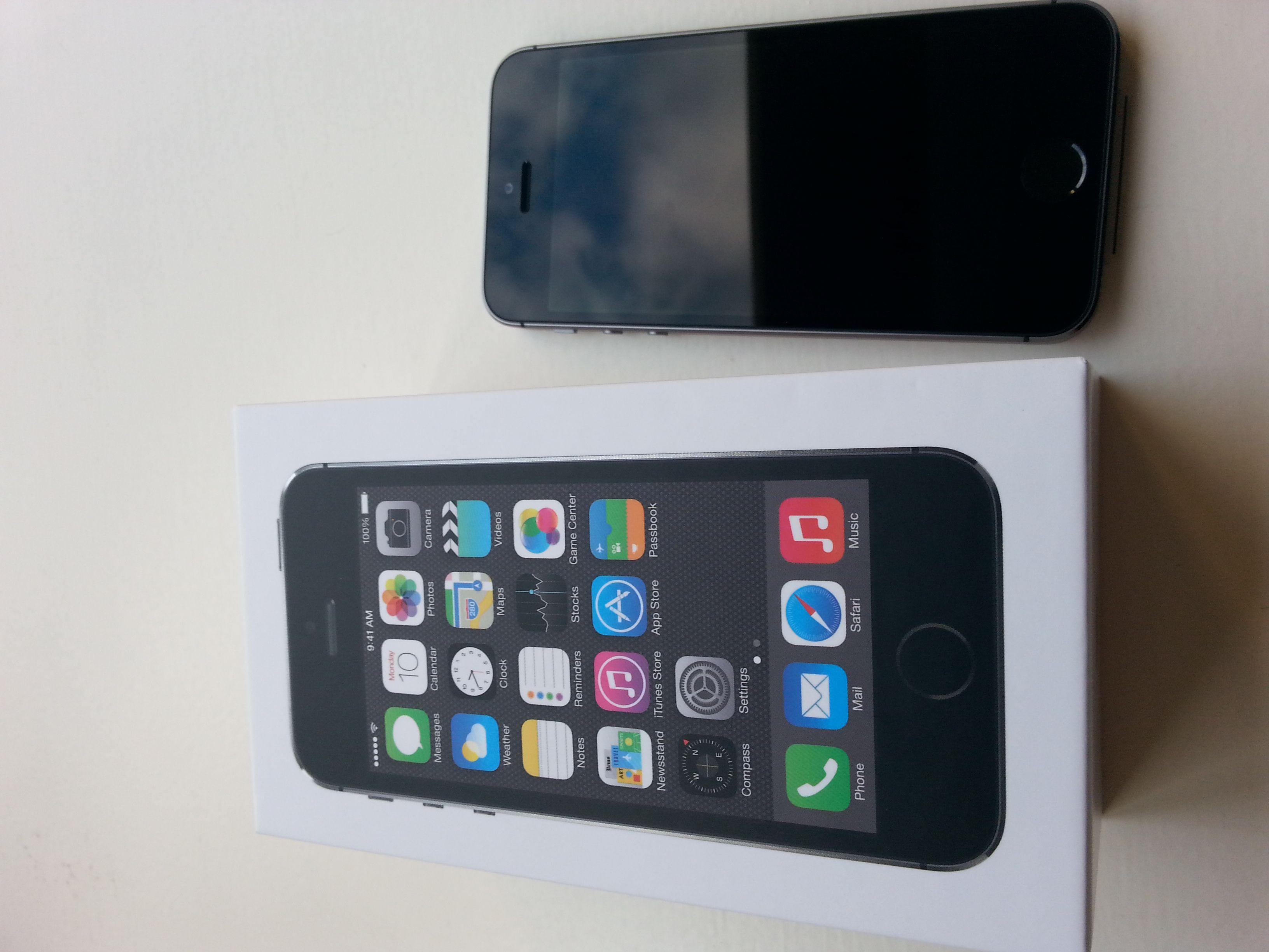 Toppmodellen iPhone 5S.