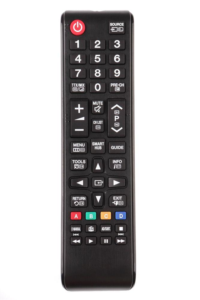 TV-fjernkontrollen kan styre andre dingser også.