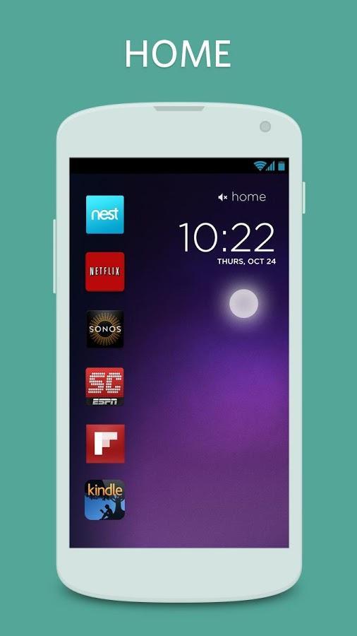 Cover Lock Screen tilpasser låseskjermen din med appene du bruker mest, avhengig av situasjon.Foto: Cover