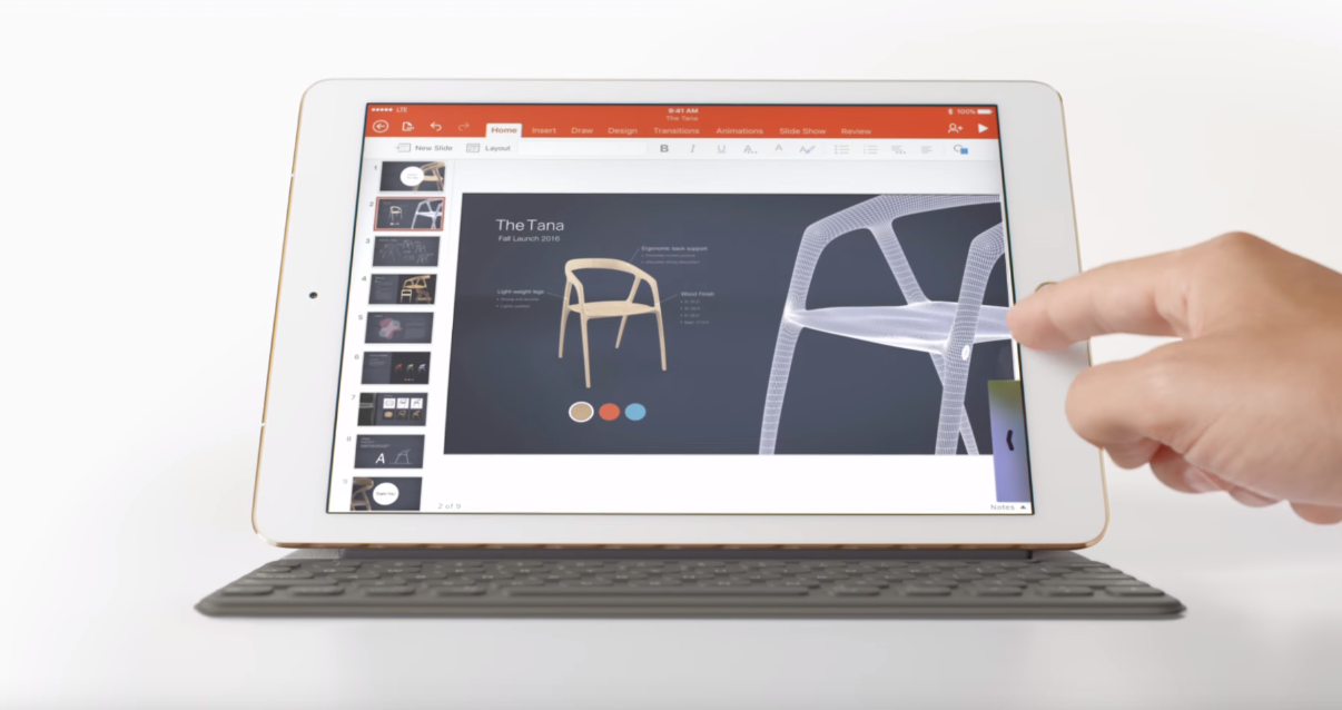 Apple påstod at iPad Pro er en fullverdig PC, og Microsoft var raskt ute med å svare.