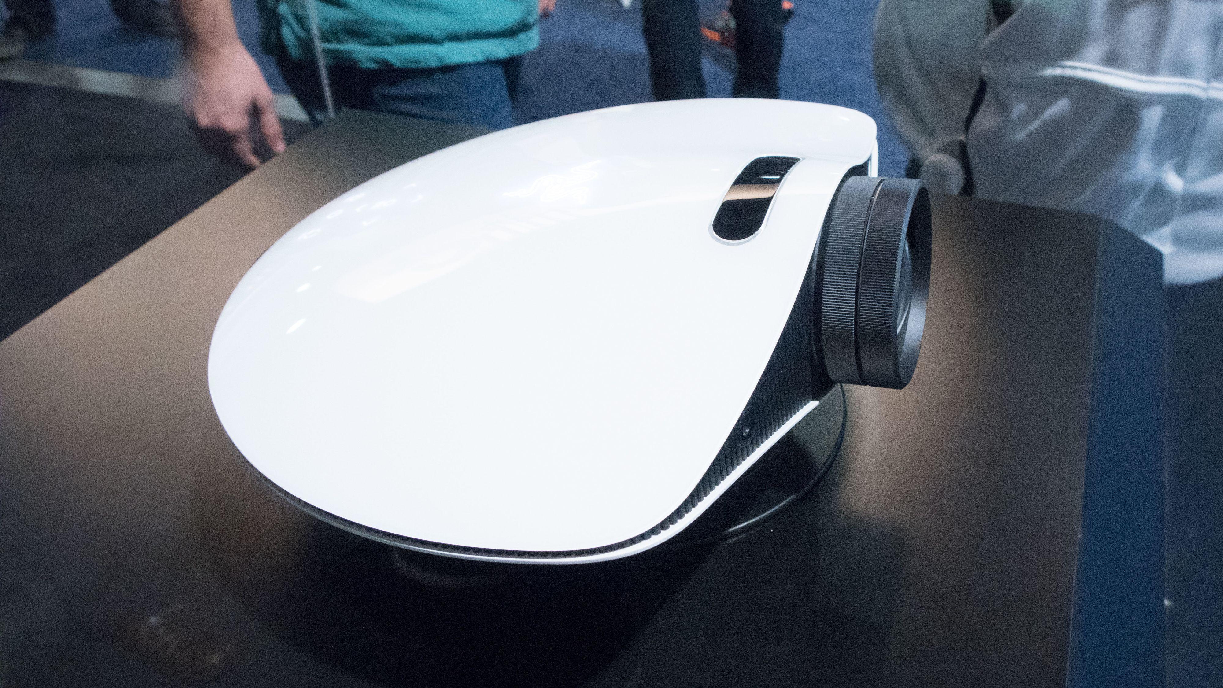 Denne lille projektoren kan gi deg en helt ny spill-opplevelse.