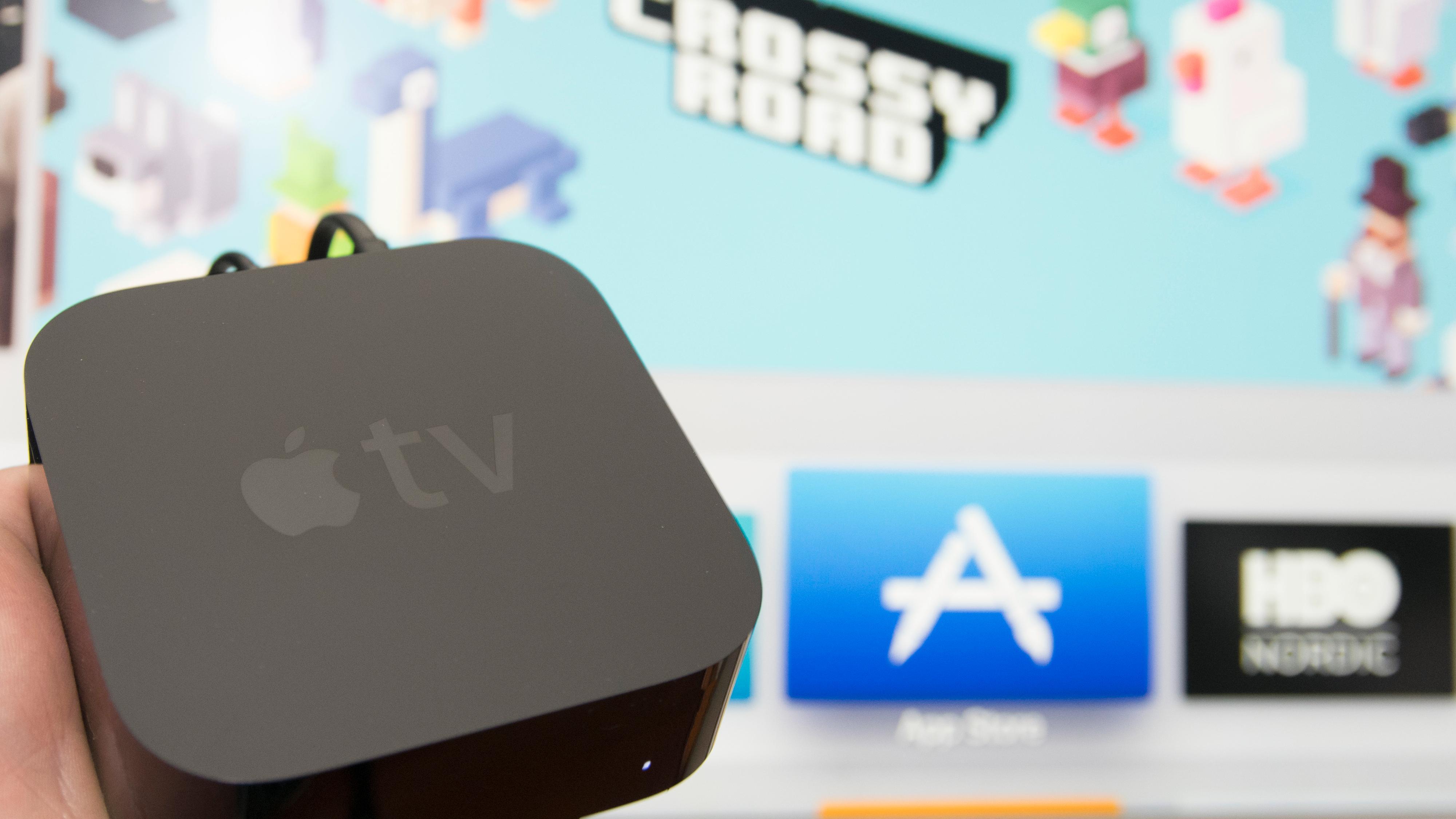 Hevder Apple jobber med Apple TV med kamera og høyttaler