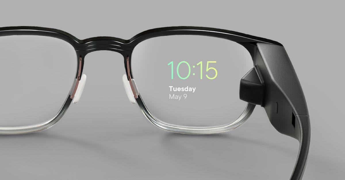 Apple-patent: iPhone-skjerm bare synlig gjennom briller