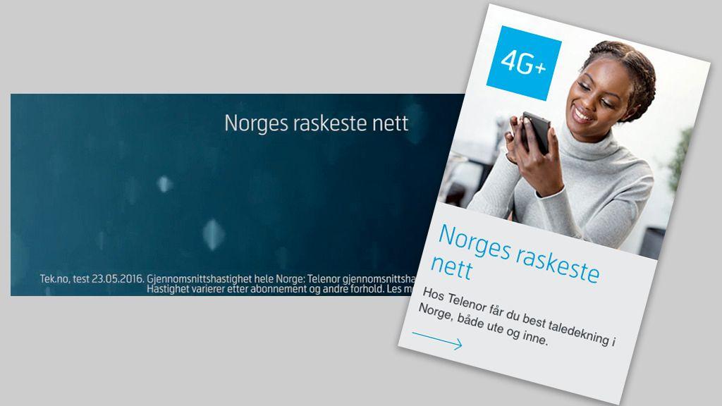 – Telenors bruk av «Norges raskeste nett» er å villede forbrukerne