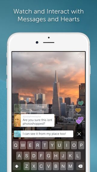 iPhone-appen. Foto: Twitter