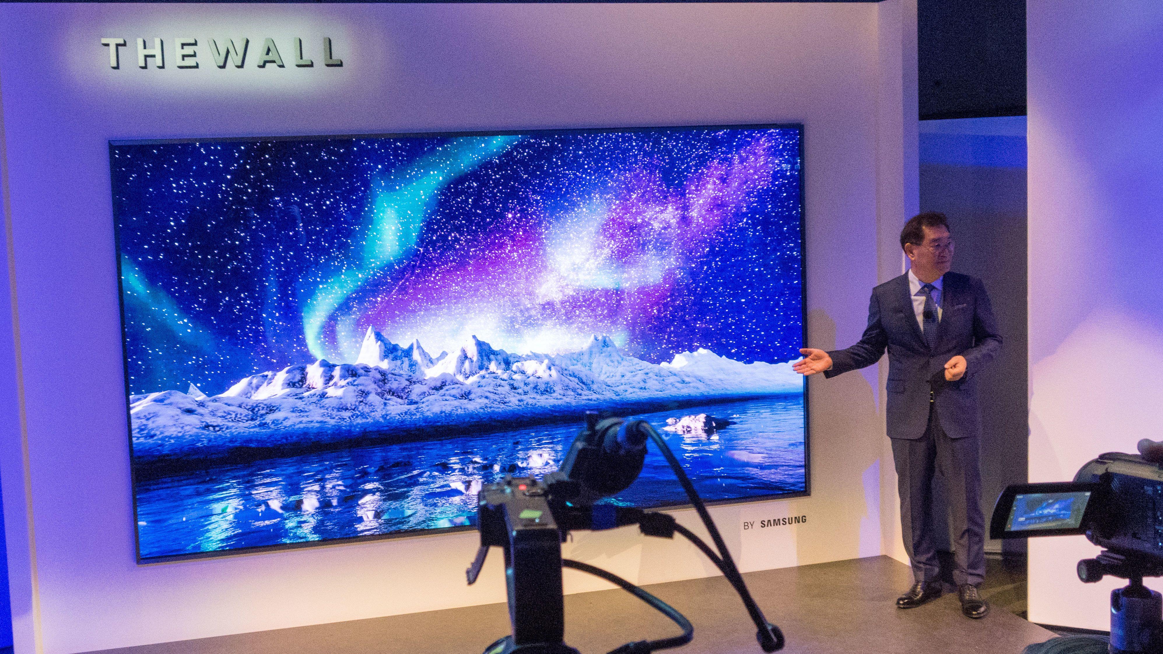 Samsung viste for første gang frem MicroLED Bilde: Ole Henrik Johansen / Tek.no
