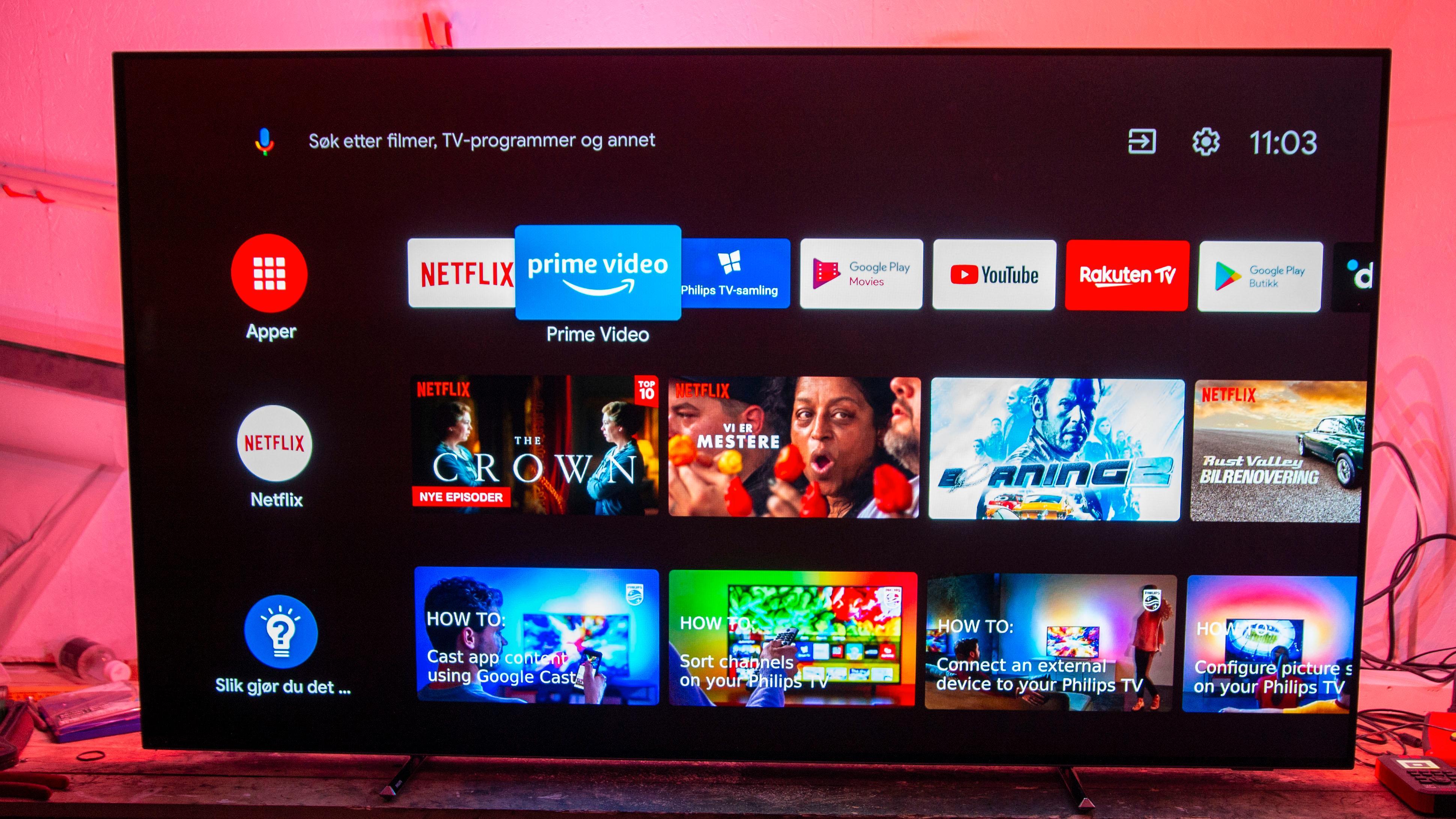 Philips kjører Android på sine TV-er