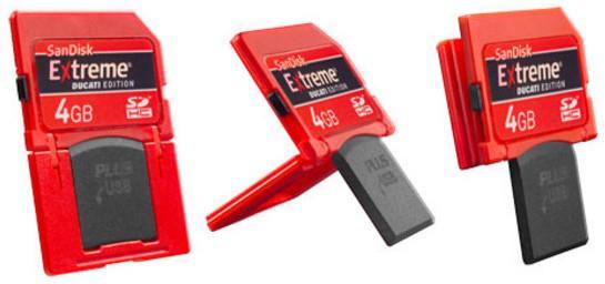 SDHC-kort med innebygget USB-plugg. Fremtiden?