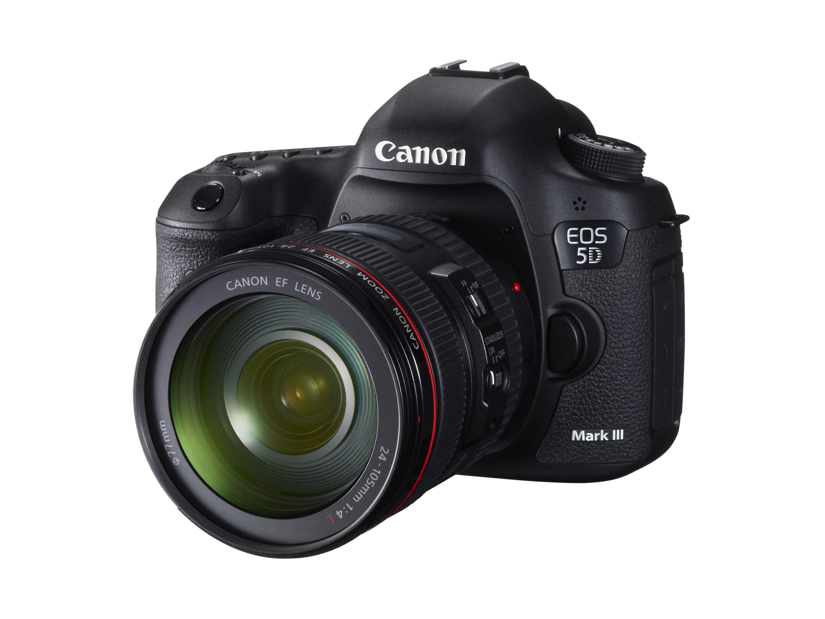 Canon EOS 5D Mark III.Foto: Canon