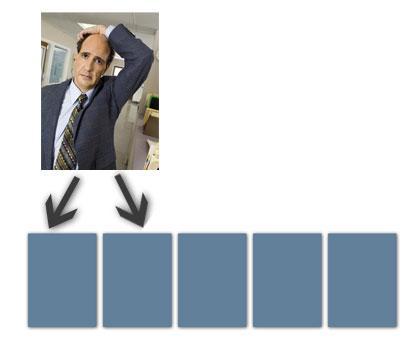 Et bilde på 8 KB trenger to pages, hver på 4 KB.
