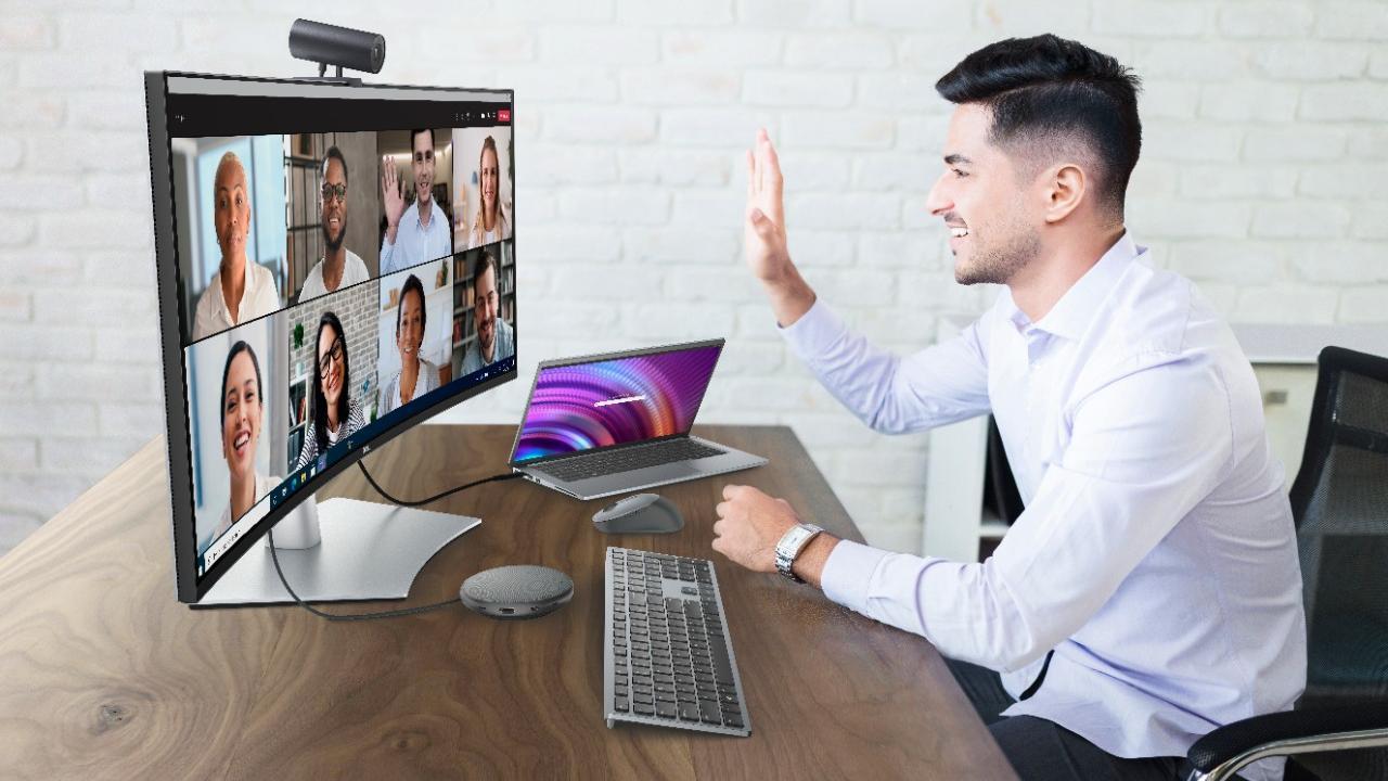 Dell lanserer webkamera som automatisk holder deg midt i bildet