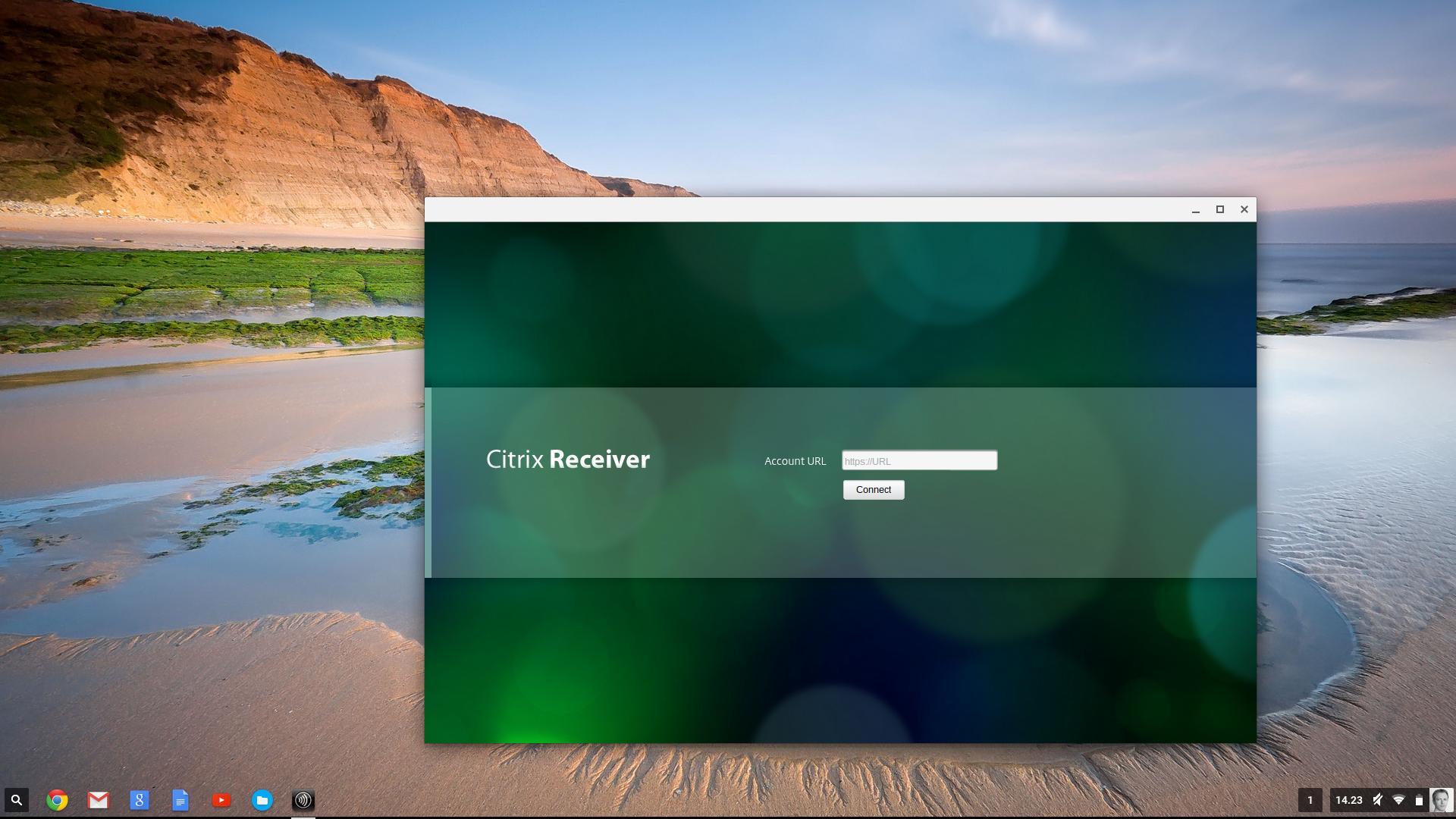 Citrix Receiver til Chromebook. Problemet er at lenker i vår Citrix-portal ikke kaller opp Citrix Receiver slik de skal, på grunn av manglende NPAPI-støtte i Chrome OS.