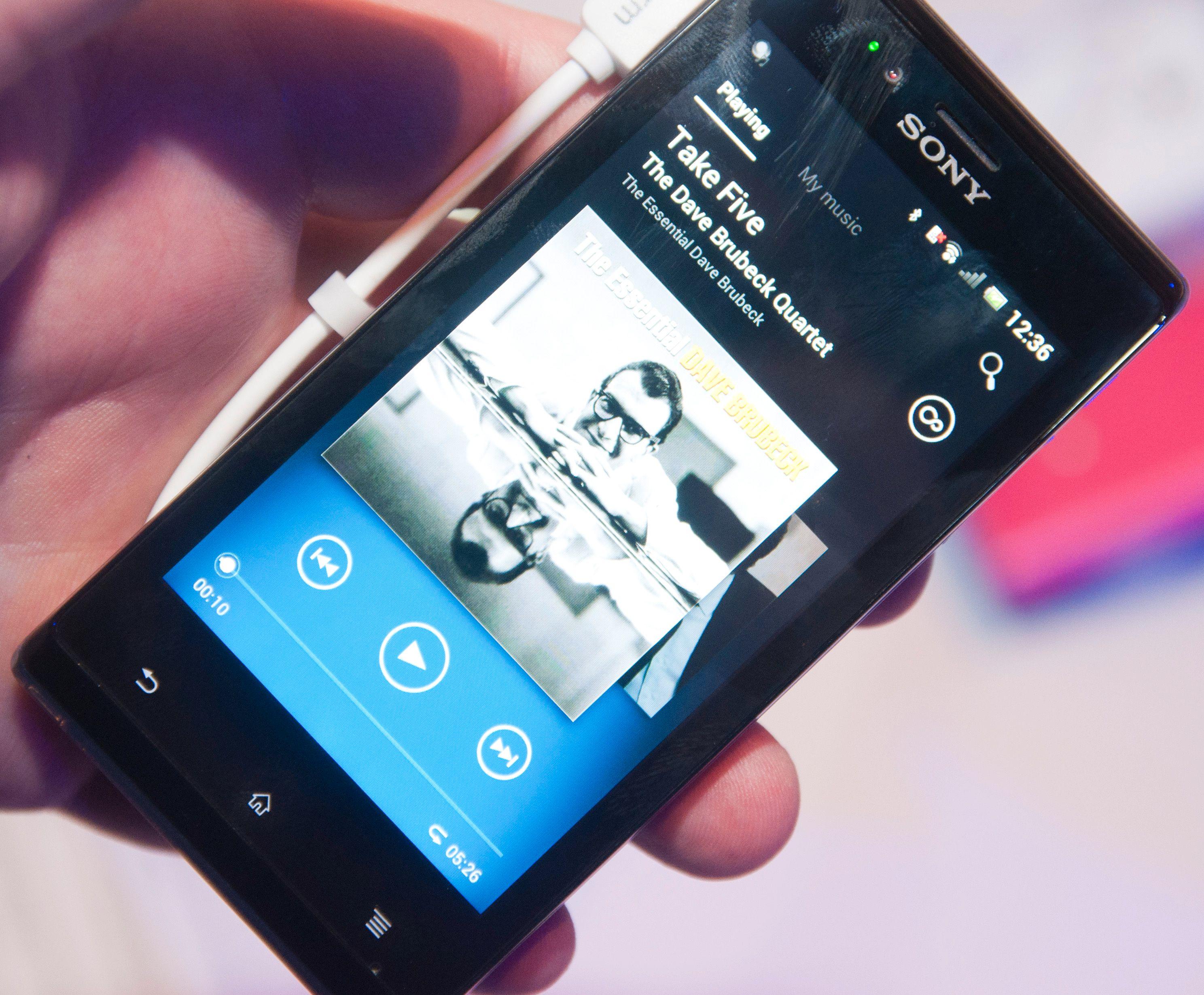 Musikkspilleren har blitt omdøpt til Walkman og har mange nyttige funksjoner.