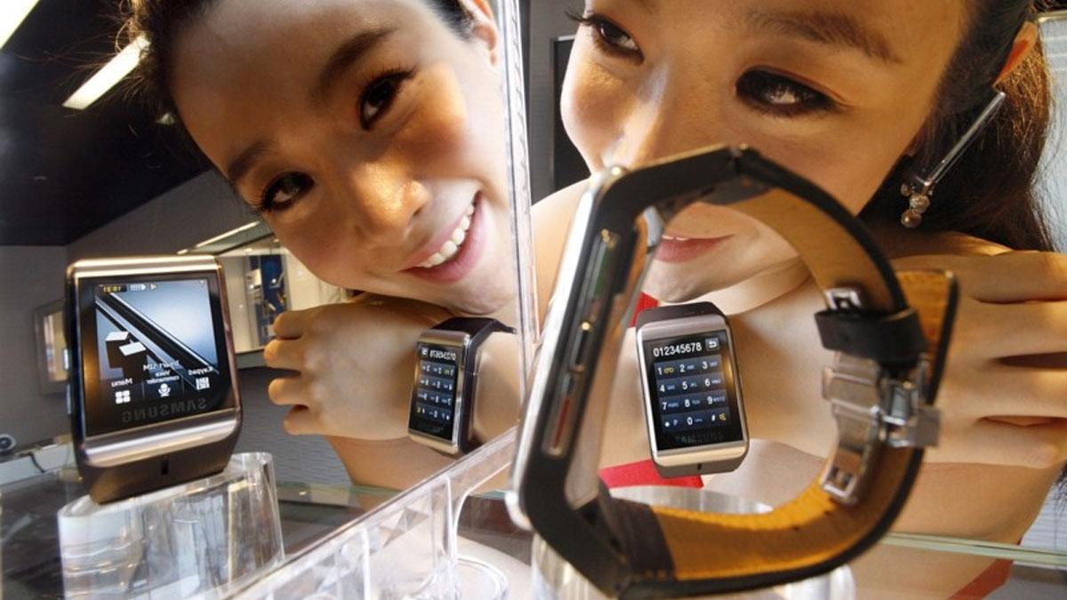 Samsung lagde en klokke tilbake i 2009 også, men den forsvant raskt fra markedet.Foto: Samsung