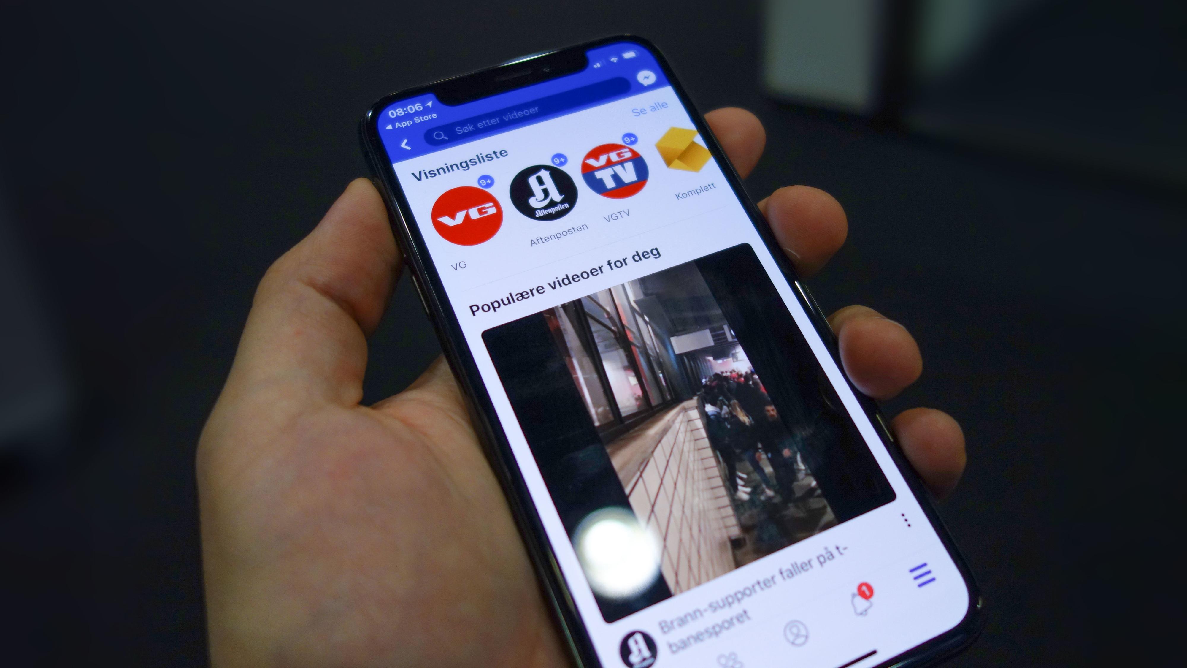Facebook lanserer YouTube-konkurrent i Norge