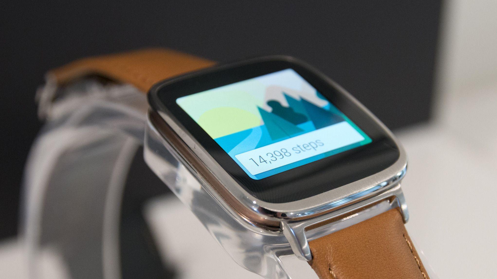 ZenWatch er skikkelig lekker.Foto: Rolf B. Wegner, Hardware.no
