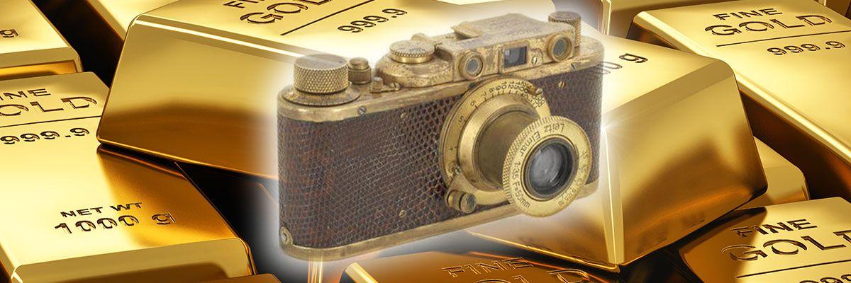 Skal det være et Leica i gull?