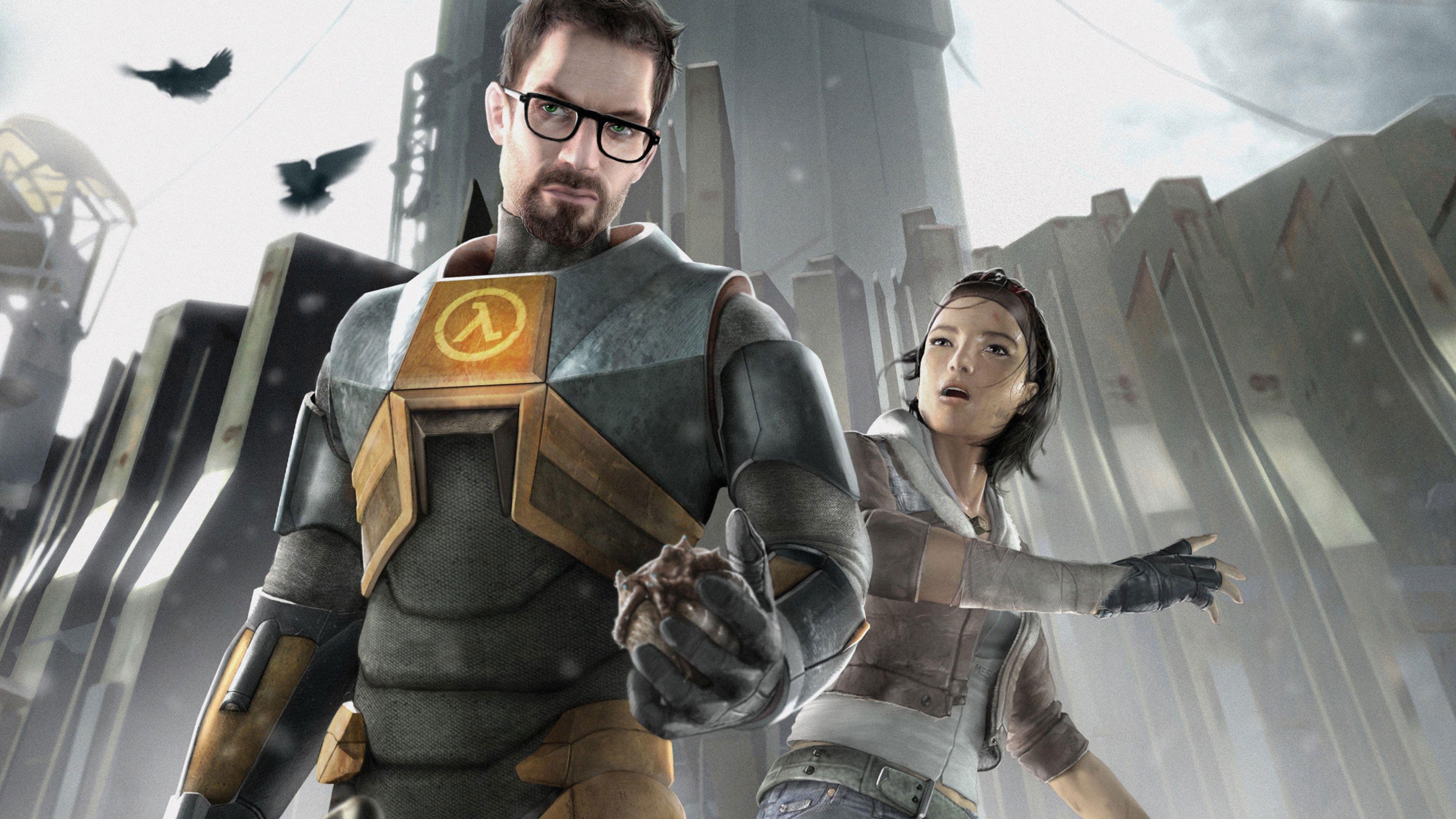 Half-Life 2 er ett av spillene du nå kan spille gratis.
