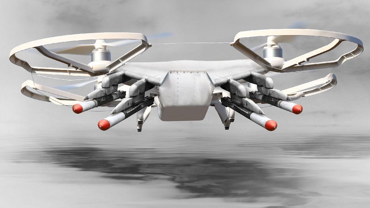 I North Dakota kan politiet nå utstyre droner med våpen