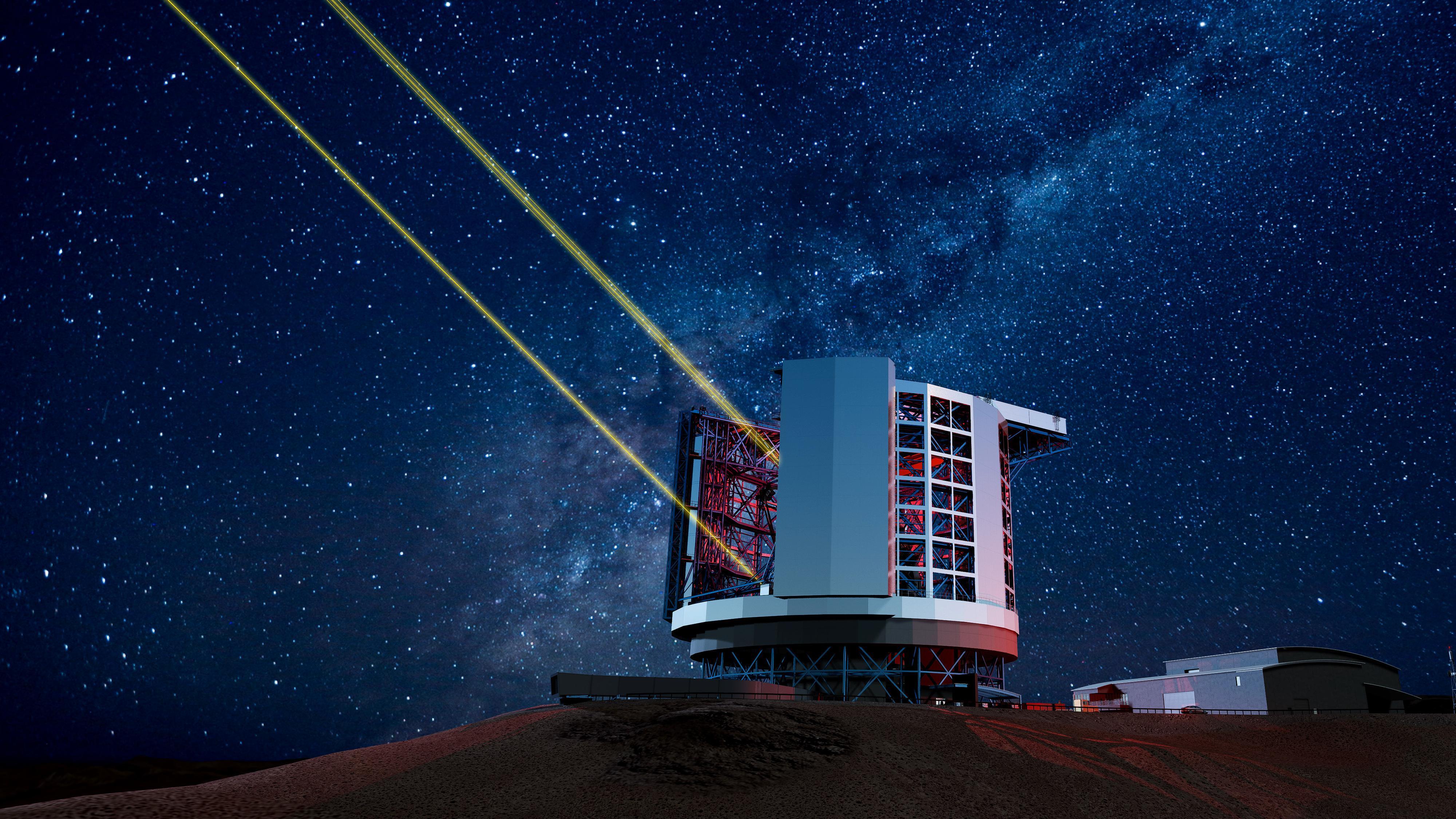 Dette gigantteleskopet skal avdekke universets mysterier