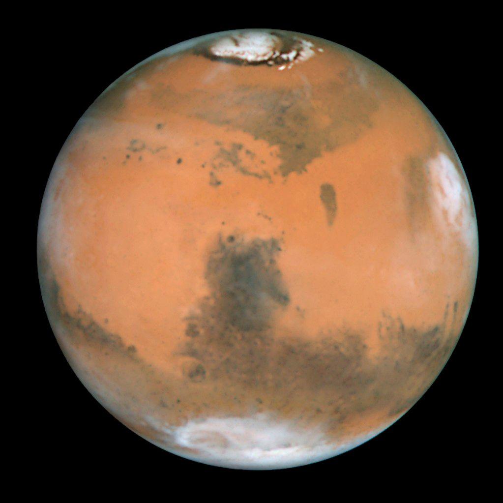 Har du ikke lyst til å bo her?Foto: NASA