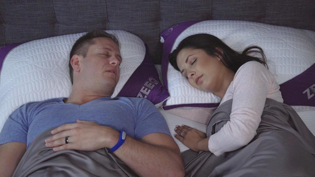 Denne smarte soveputen skal fikse både snorking og dårlig søvn