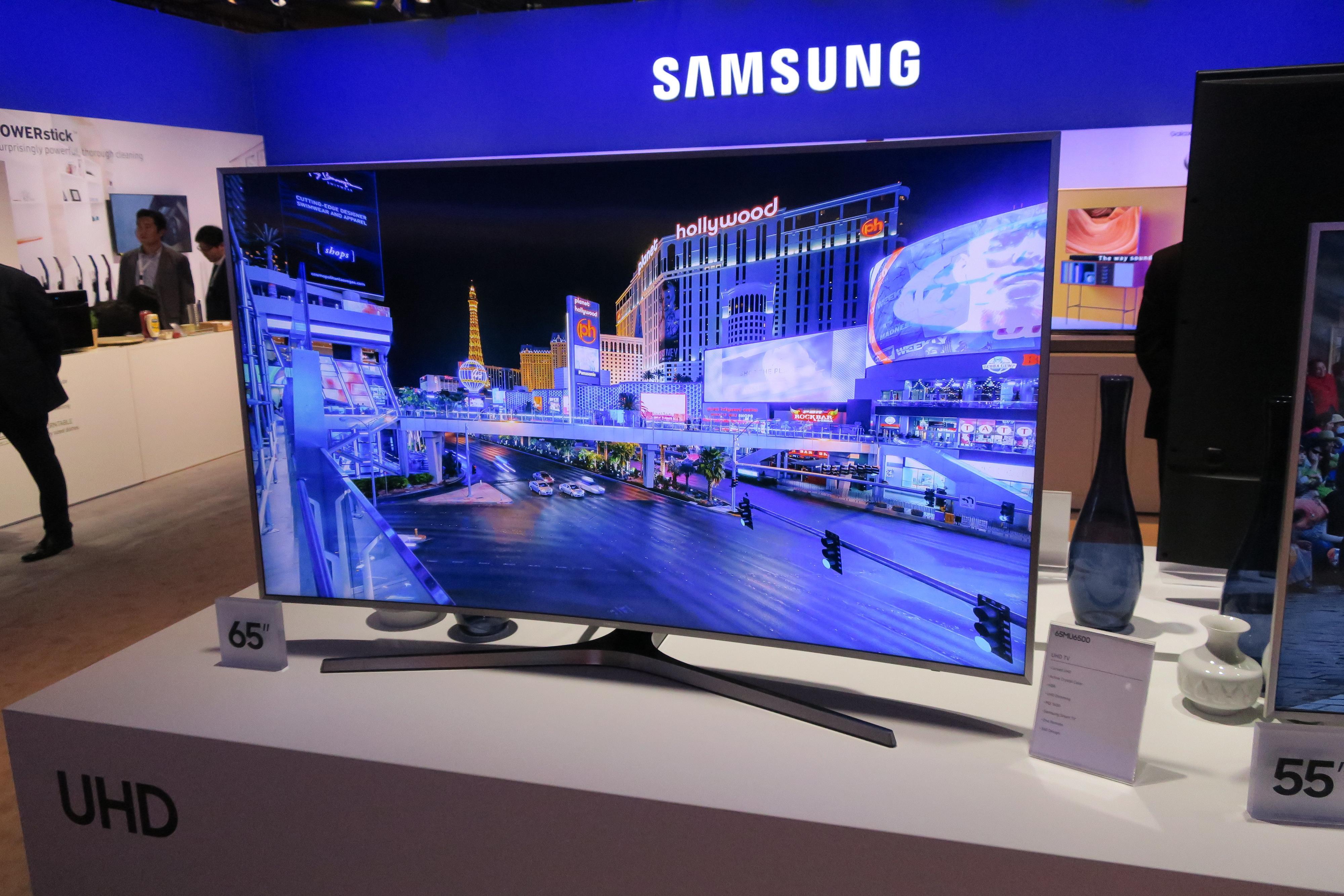 Slik ser Samsung MU6505 ut.