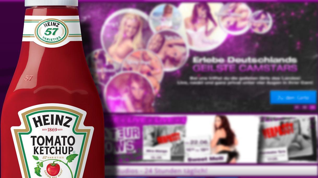 Daniel kom til pornoside da han skannet kode på ketchup-flasken