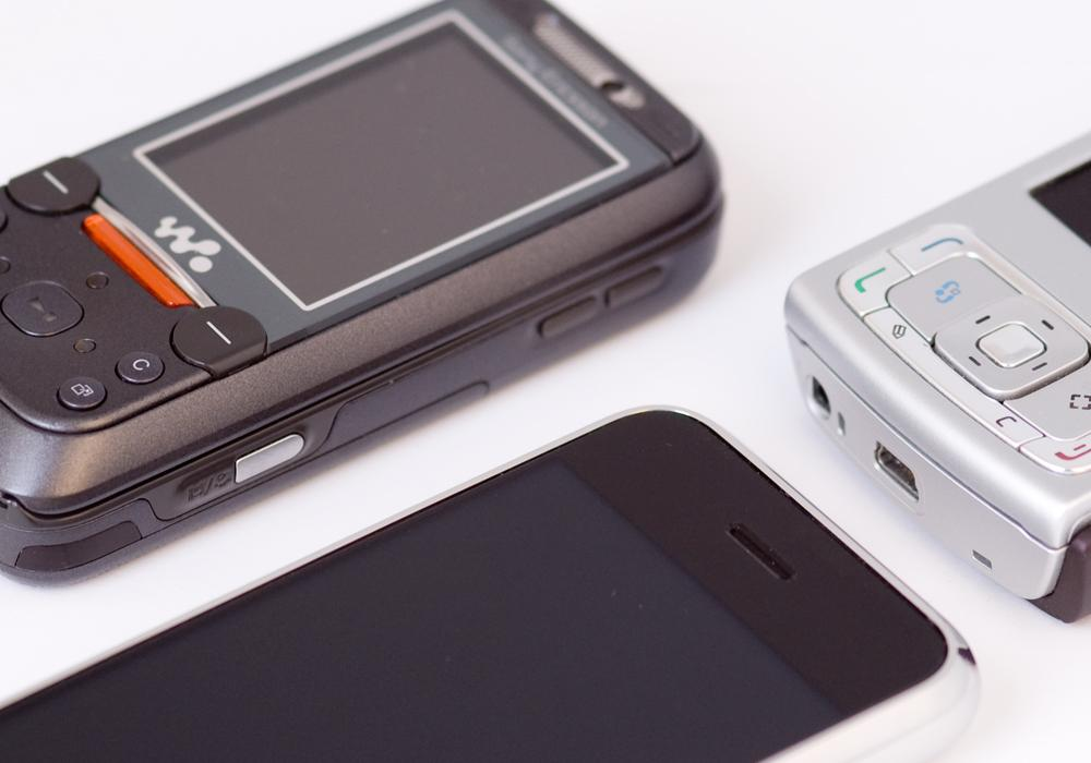 IPhone er ikke tykk (Trykk for større bilder)