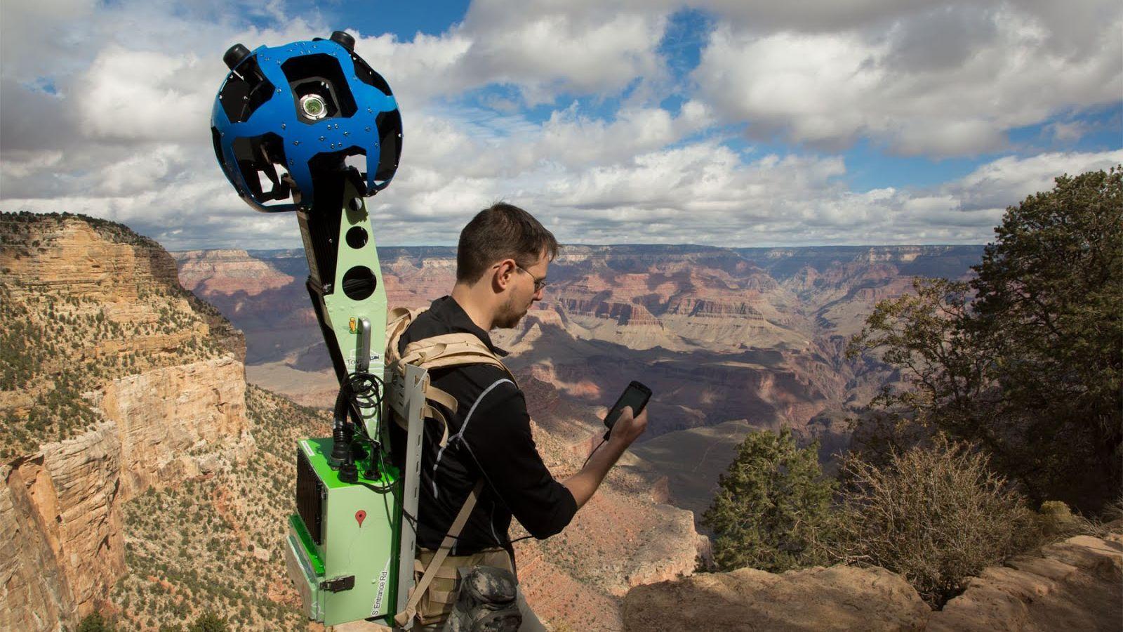 Google inntar Grand Canyon
