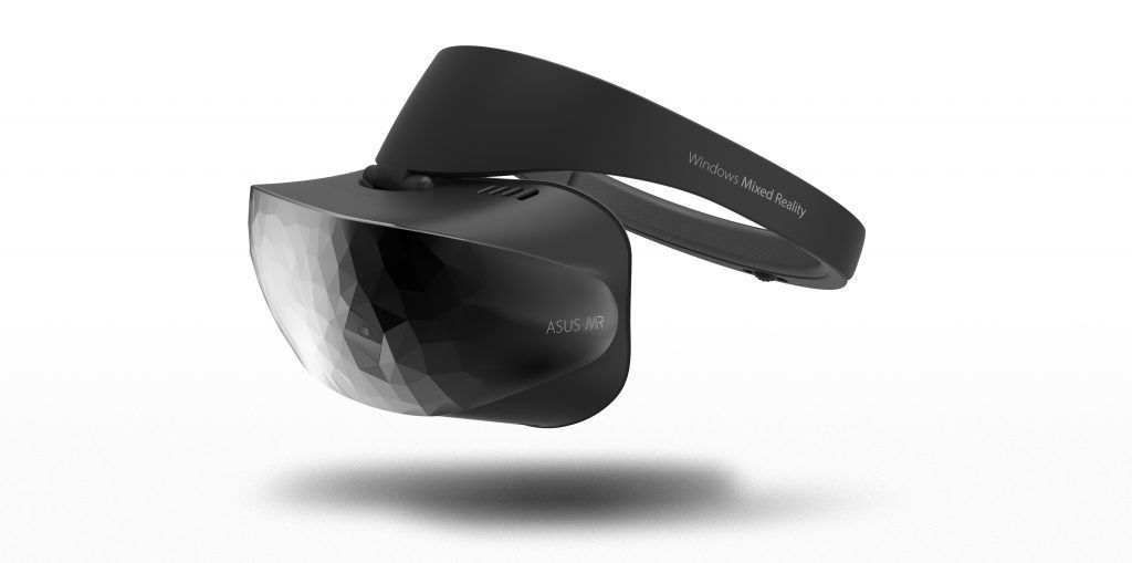 Asus-brillene er prydet med et spesielt mønster på fremsiden.