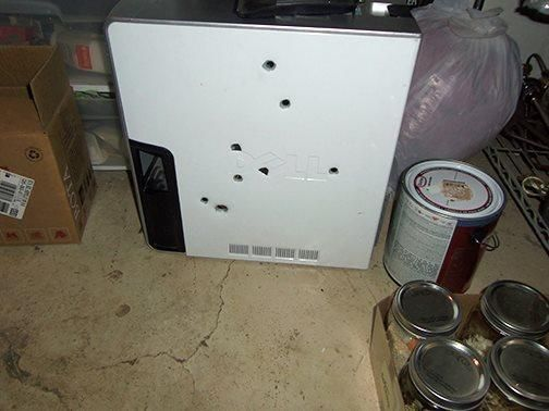 Offeret var en Dell XPS 410. Foto: Colorado Springs Police Department