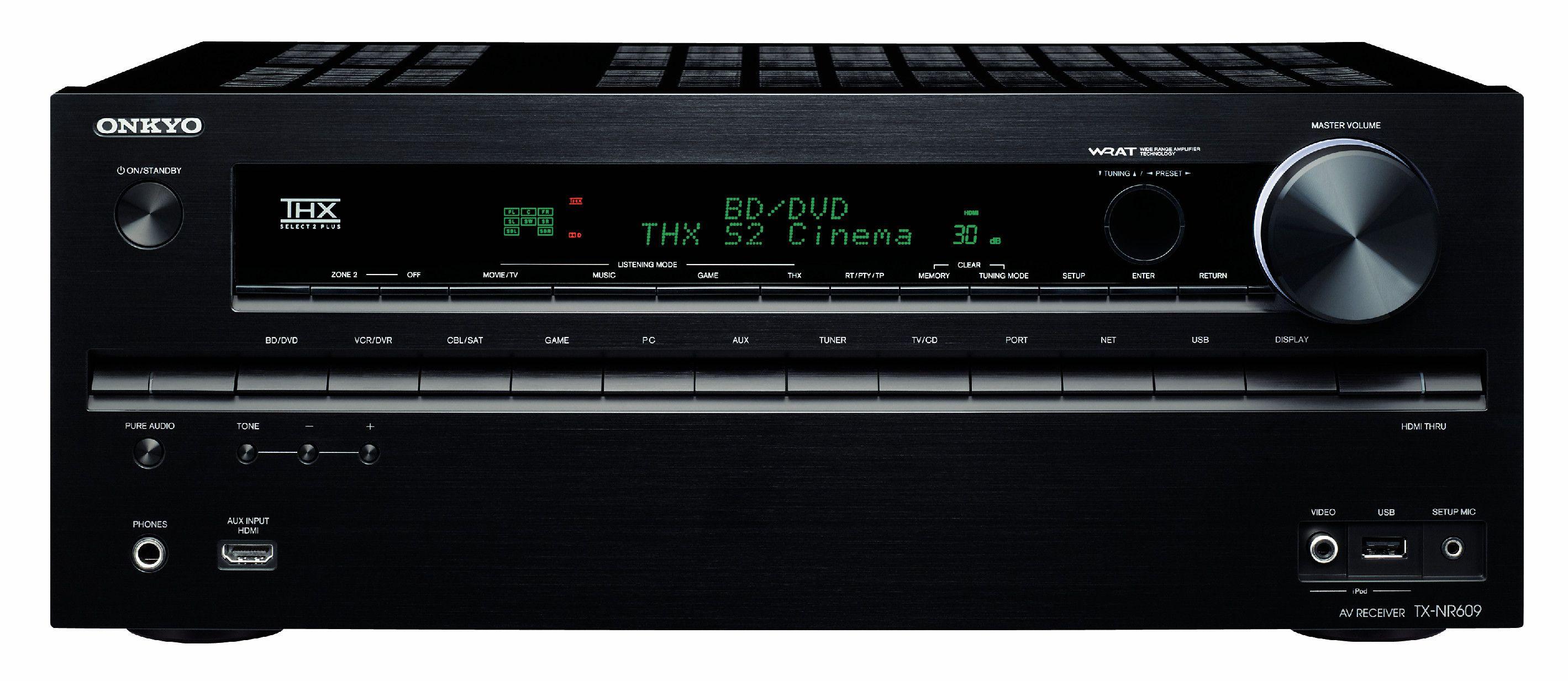 Onkyo lanserer sine første receivere i 2011