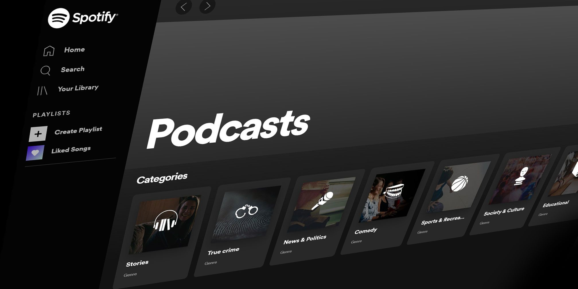 Spotify lanserer video-podkaster