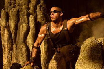 """Vin Diesel i filmen """"The Chronicles of Riddick""""."""