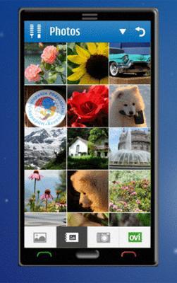 Konseptskjermbilde fra Symbian^3. (Foto: All About Symbian)