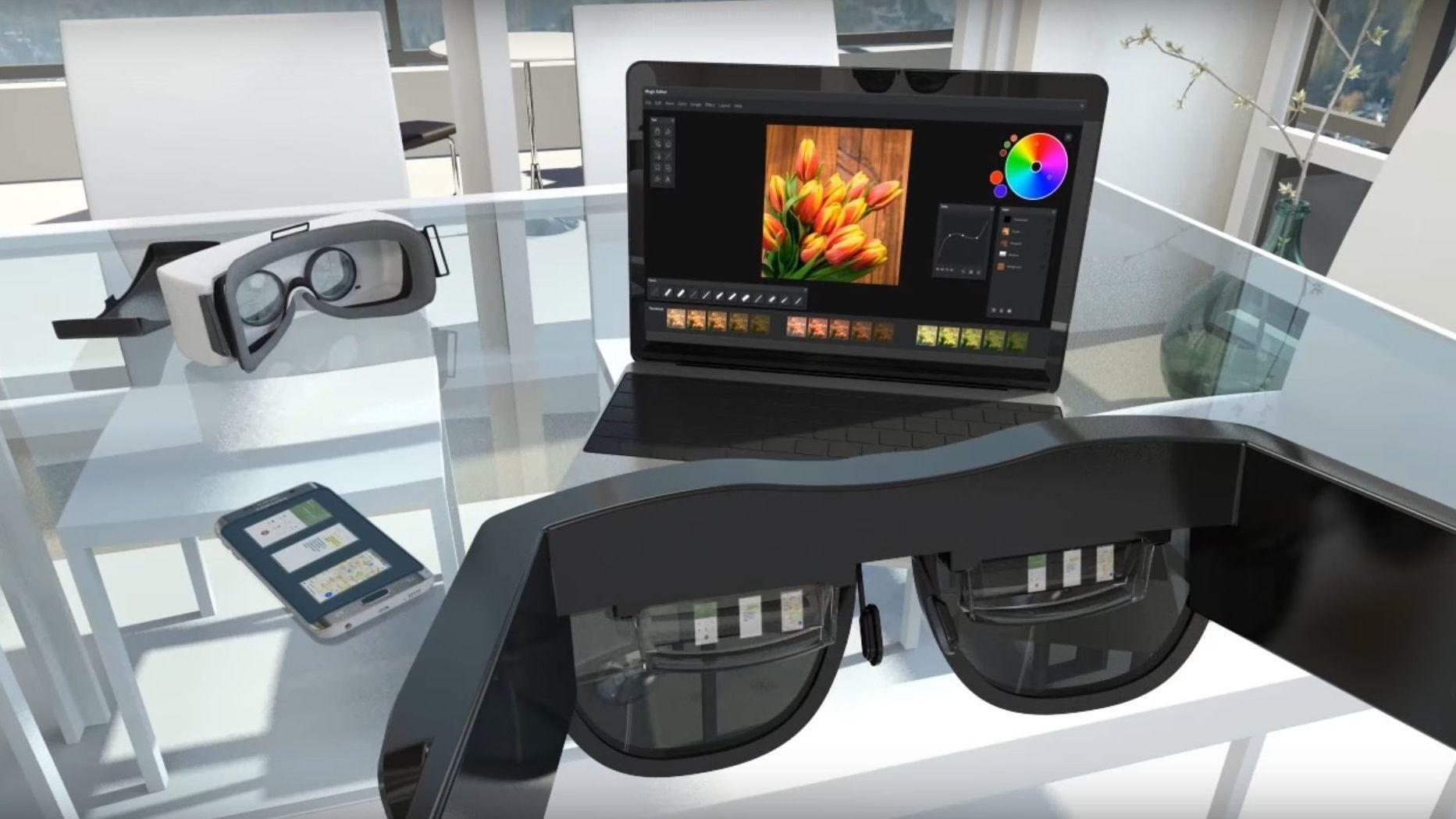 Samsungs nye «VR-briller» gjør PC- og mobilskjermen overflødig