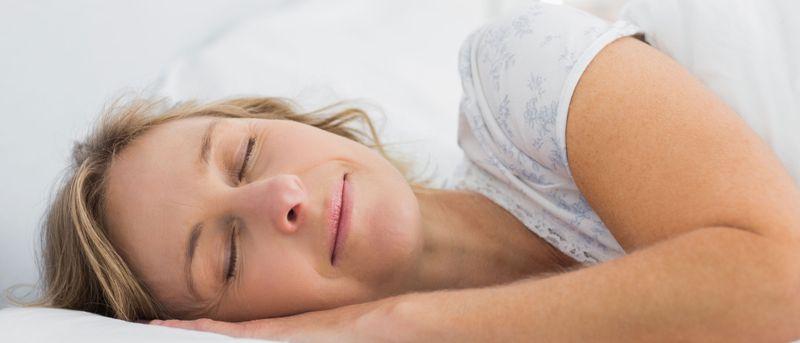 Så sover du dig ner i vikt
