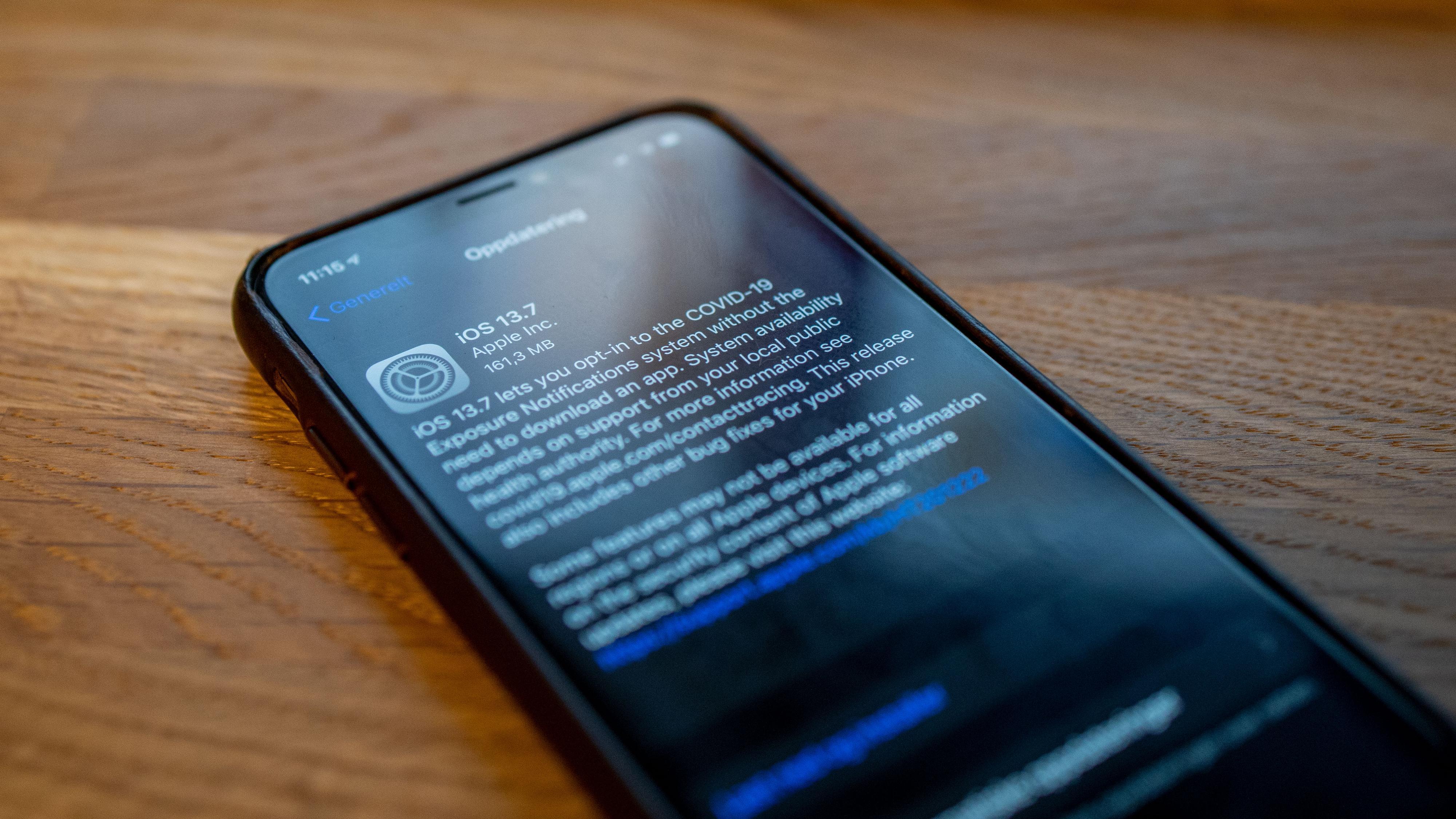 Apple slipper ny iOS, og gjør det enklere å delta i smittesporing