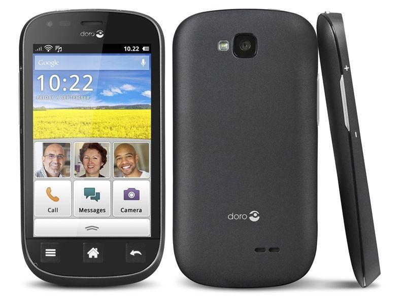 Kodaks telefon er om ikke annet penere enn Doro. (Foto: Doro)