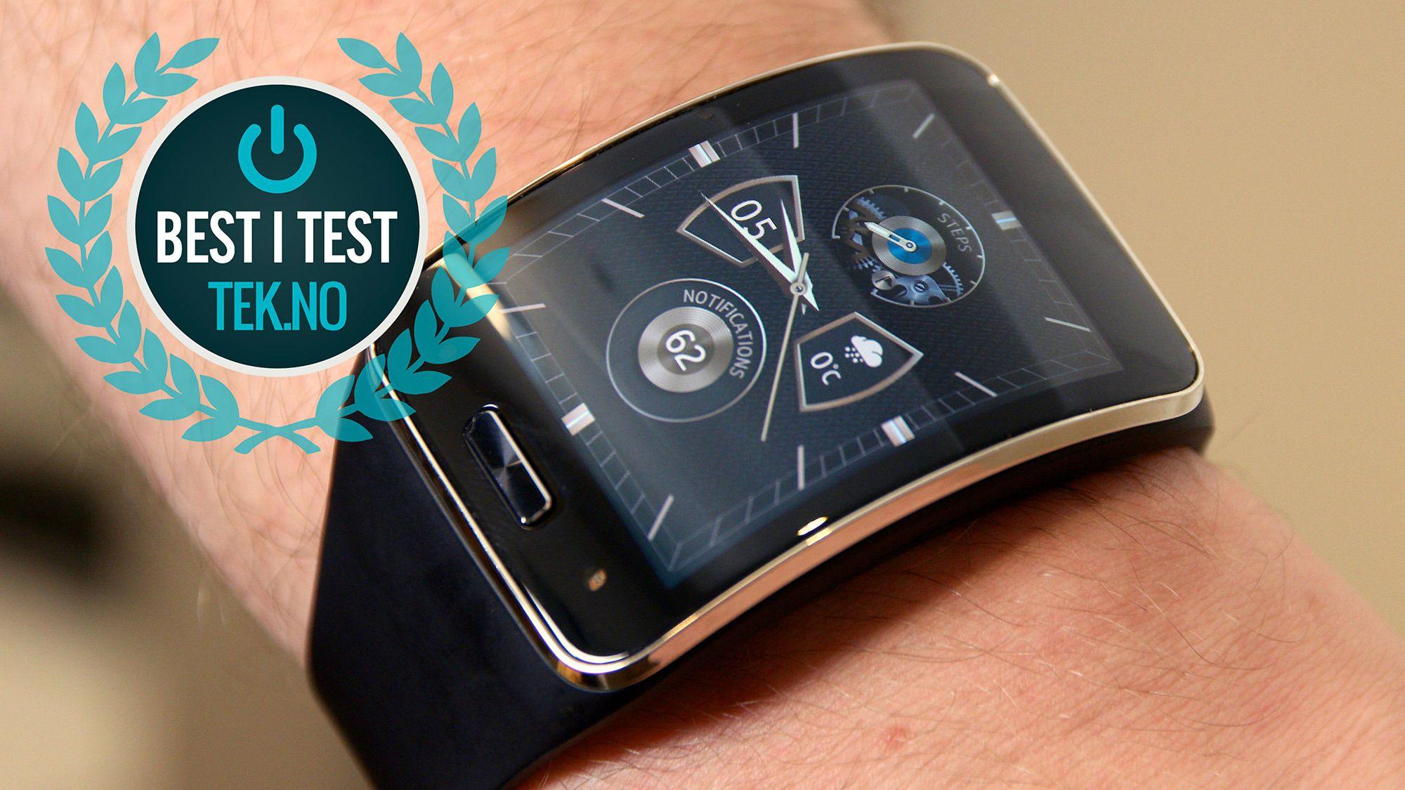 Samsung Gear S.Foto: Kurt Lekanger, Tek.no